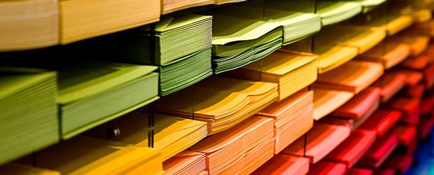 Chaque papier a son grammage (g/m²)