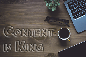 marketing de contenu web - content is king